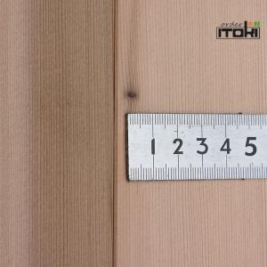 レッドシダー羽目板、無節、上小、柾板